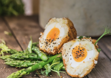Steven Bennett, The Lincolnshire Chef Smoked Haddock Scotch Egg Recipe