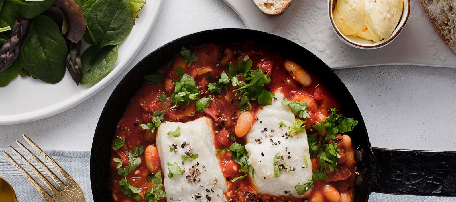 The Lincolnshire Chef Cod and Chorizo Stew recipe for IshFish