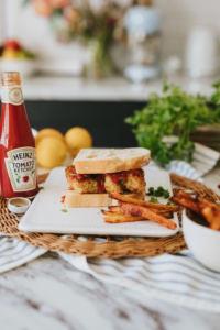 Cod Fish Finger Sandwich Recipe